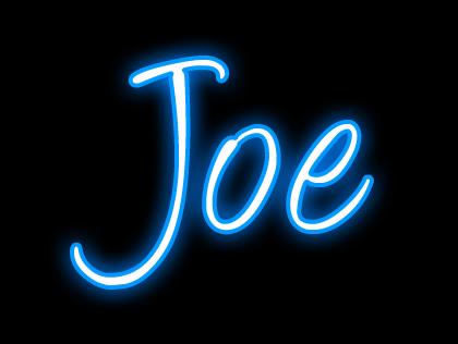 Image Gallery joe name art