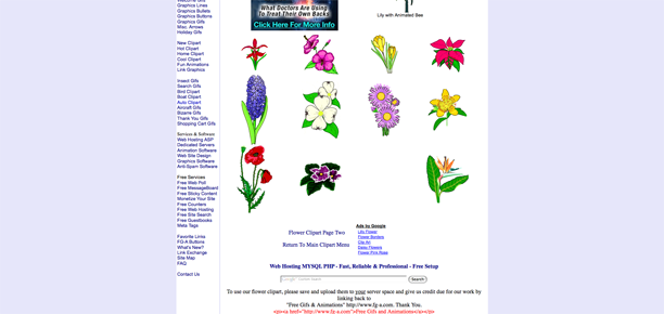 flowers clip art free. The free floral clipart