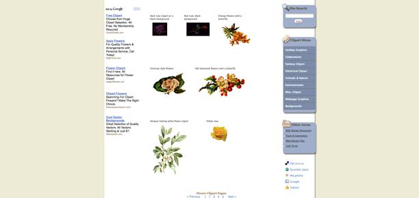 google clip art free images. flower clip art free.