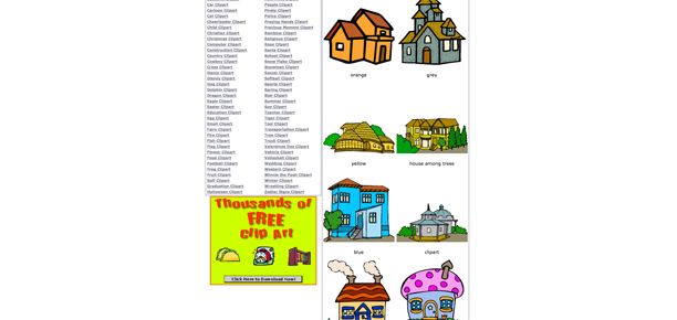 Clip Art Houses Free. free-house-clipart-2